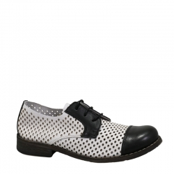 BEJA-C374-CALF-OVALOS-BLACK-WHITE
