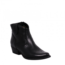 West-B504-Calf-Black